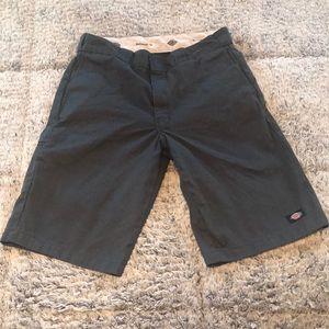 Dark gray men's Dickies shorts
